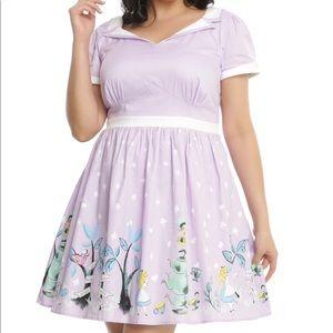Disney Alice in Wonderland Tea Party Retro Dress